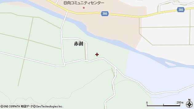 山形県酒田市赤剥村腰18周辺の地図