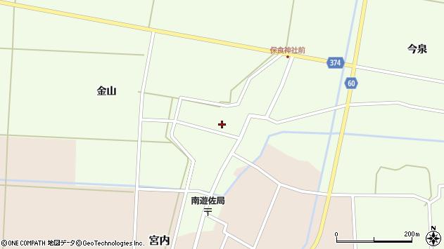 山形県酒田市千代田外野71周辺の地図