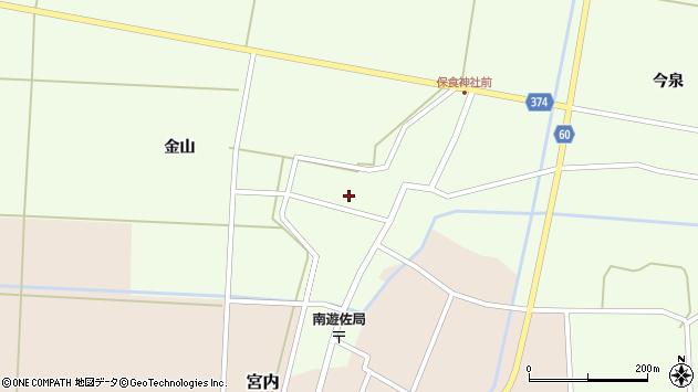 山形県酒田市千代田外野70周辺の地図