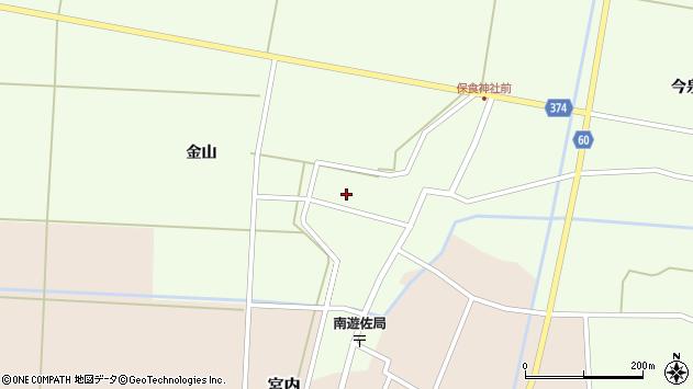 山形県酒田市千代田外野67周辺の地図