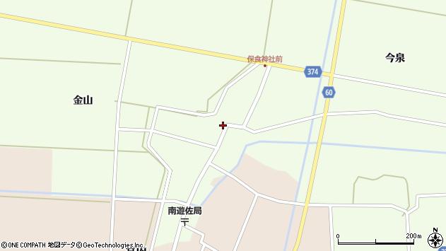 山形県酒田市千代田外野76周辺の地図