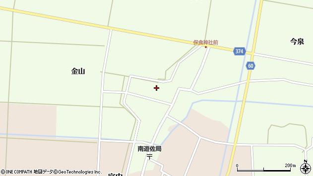 山形県酒田市千代田外野68周辺の地図