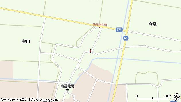 山形県酒田市千代田外野82周辺の地図