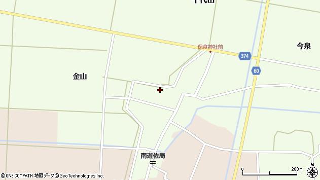 山形県酒田市千代田外野31周辺の地図