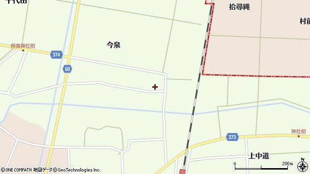 山形県酒田市千代田宅田16周辺の地図