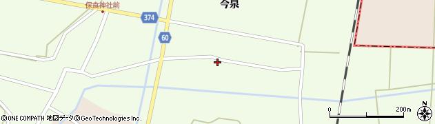 山形県酒田市千代田宅田52周辺の地図