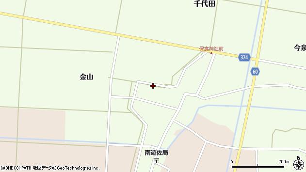 山形県酒田市千代田外野65周辺の地図