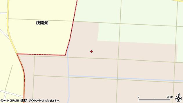 山形県酒田市宮内古開発周辺の地図