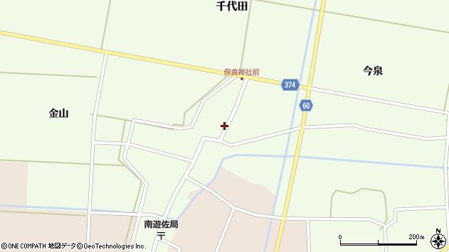山形県酒田市千代田外野83周辺の地図