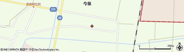 山形県酒田市千代田宅田34周辺の地図