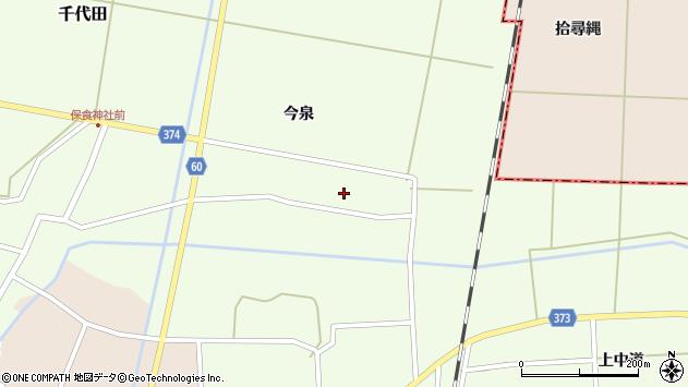 山形県酒田市千代田宅田24周辺の地図