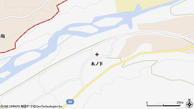 山形県酒田市福山村上33周辺の地図