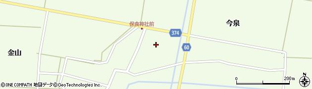 山形県酒田市千代田諏訪面29周辺の地図
