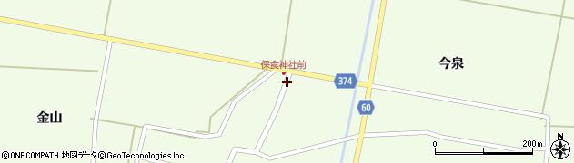 山形県酒田市千代田外野108周辺の地図