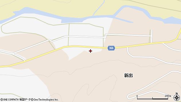 山形県酒田市新出牛道31周辺の地図
