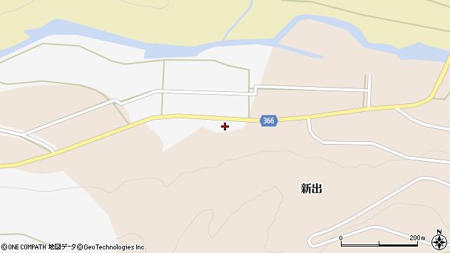山形県酒田市新出牛道37周辺の地図