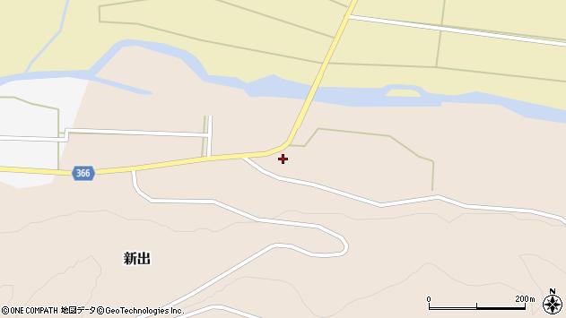 山形県酒田市新出坂ノ下120周辺の地図