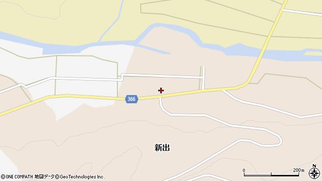 山形県酒田市新出村ノ前38周辺の地図