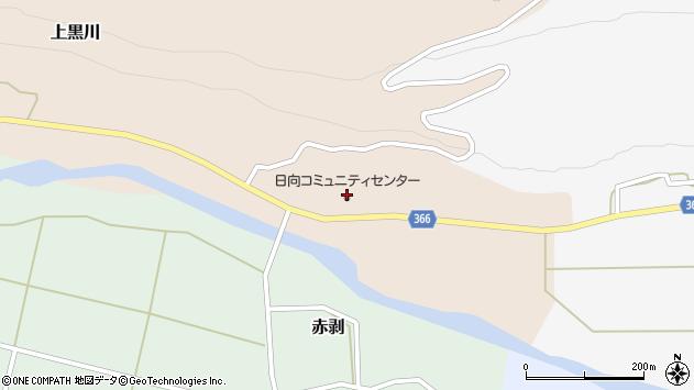 山形県酒田市上黒川家ノ東周辺の地図