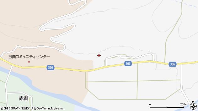 山形県酒田市草津豊田61周辺の地図