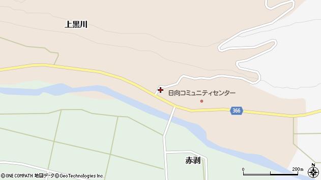 山形県酒田市上黒川宝泉田2周辺の地図