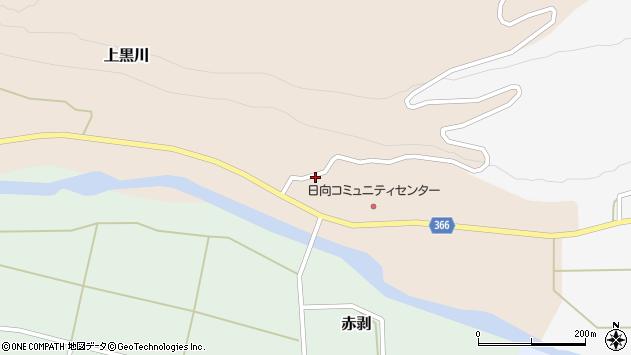 山形県酒田市上黒川家ノ東64周辺の地図