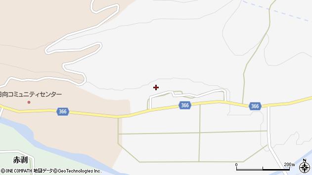 山形県酒田市草津豊田64周辺の地図