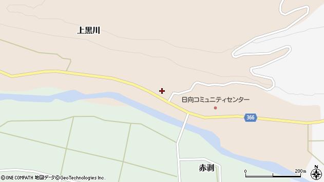 山形県酒田市上黒川宝泉田4周辺の地図