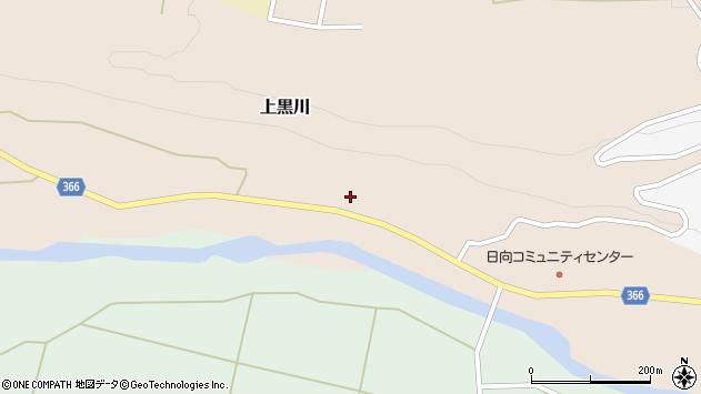 山形県酒田市上黒川家ノ西56周辺の地図