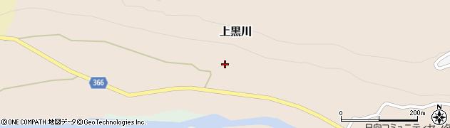 山形県酒田市上黒川日向平89周辺の地図