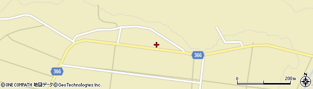 山形県酒田市下黒川上深田57周辺の地図