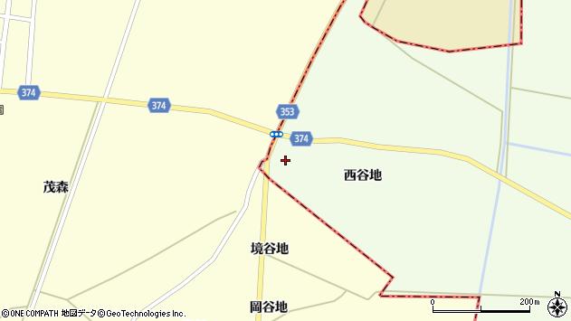山形県酒田市千代田西谷地193周辺の地図