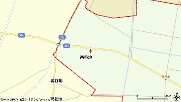 山形県酒田市千代田西谷地106周辺の地図