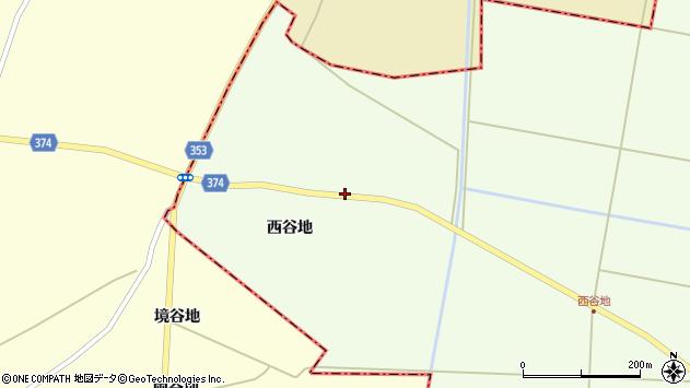 山形県酒田市千代田西谷地253周辺の地図