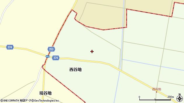 山形県酒田市千代田西谷地257周辺の地図