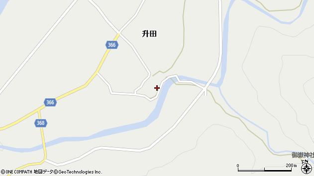 山形県酒田市升田東向45周辺の地図