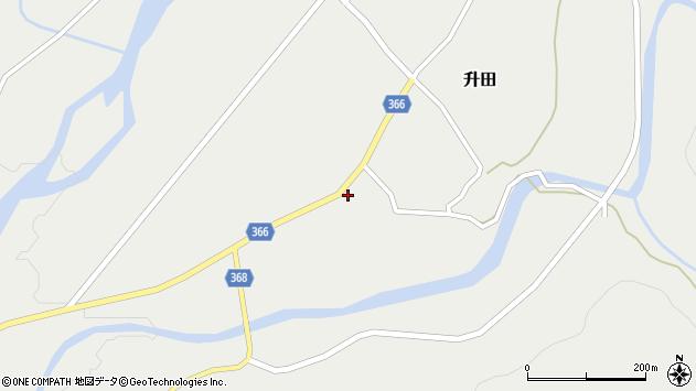 山形県酒田市升田野向4周辺の地図