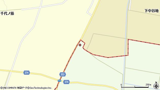 山形県酒田市千代田西谷地236周辺の地図
