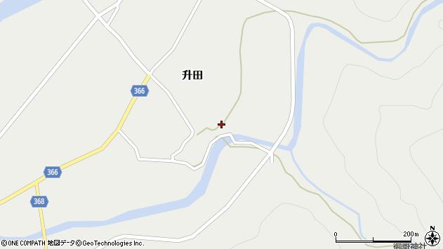 山形県酒田市升田東向64周辺の地図