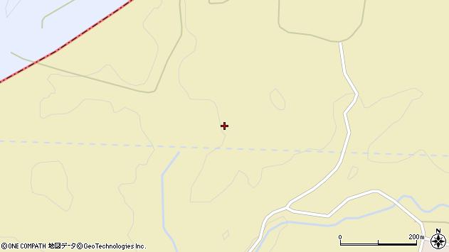 山形県酒田市下黒川滝ノ上周辺の地図