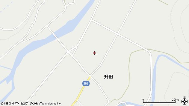 山形県酒田市升田大石10周辺の地図