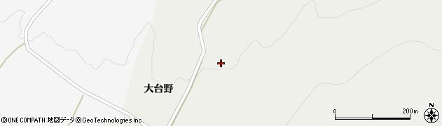 山形県酒田市升田大台野40周辺の地図