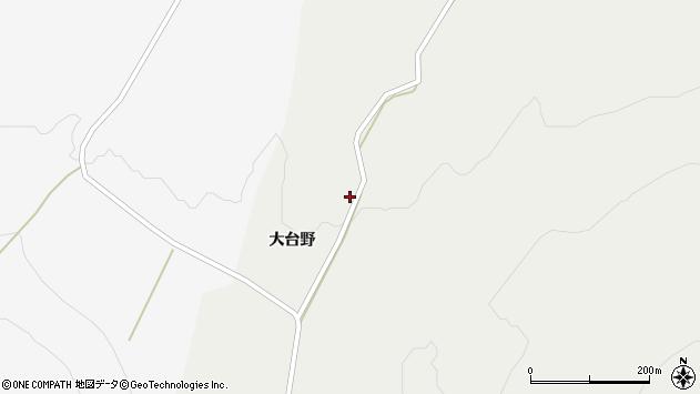 山形県酒田市升田大台野37周辺の地図