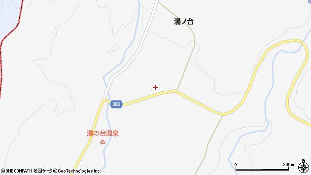 山形県酒田市草津湯ノ台29周辺の地図