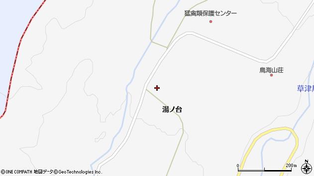 山形県酒田市草津湯ノ台40周辺の地図