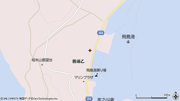 山形県酒田市飛島勝浦乙106周辺の地図