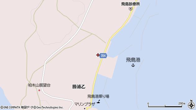 山形県酒田市飛島勝浦乙140周辺の地図