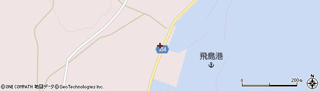 山形県酒田市飛島勝浦乙142周辺の地図