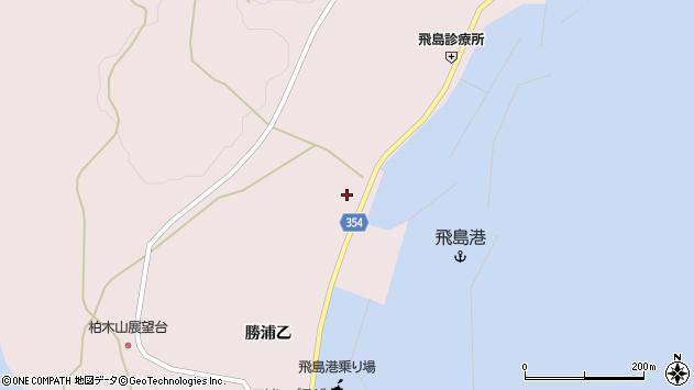 山形県酒田市飛島勝浦乙148周辺の地図