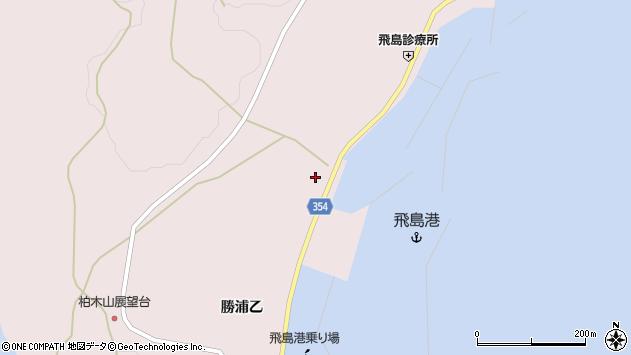 山形県酒田市飛島勝浦乙149周辺の地図